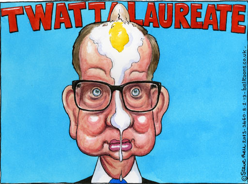Steve Bell from The Guardian