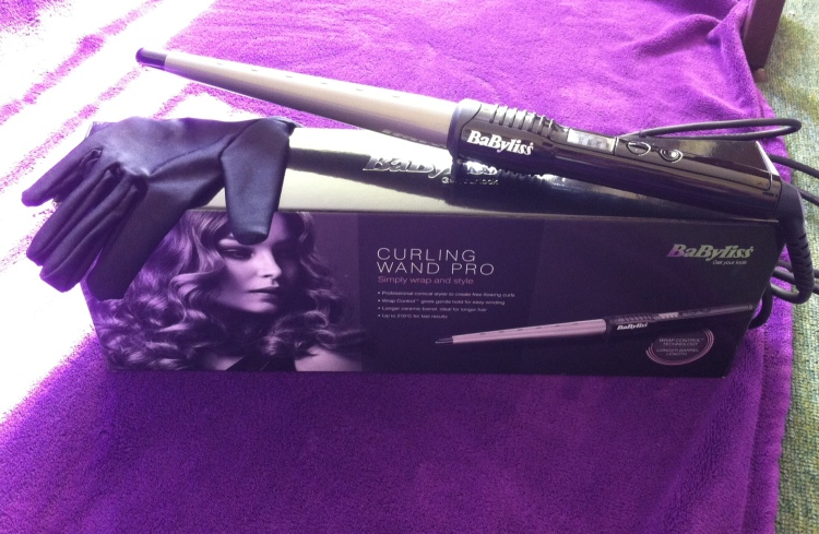 Spend Spend Spend: Babyliss Curling Wand Pro
